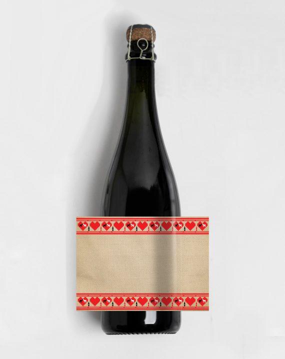 sticla cu eticheta personalizata